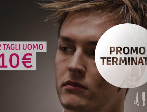 Promo gennaio: 2 tagli uomo a soli 10€