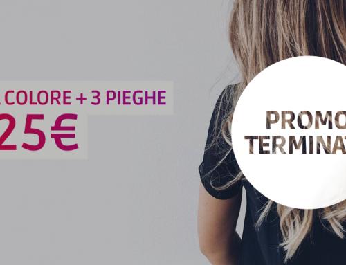 Promo Schiaritura: 1 schiaritura + 1 piega a soli 17€!
