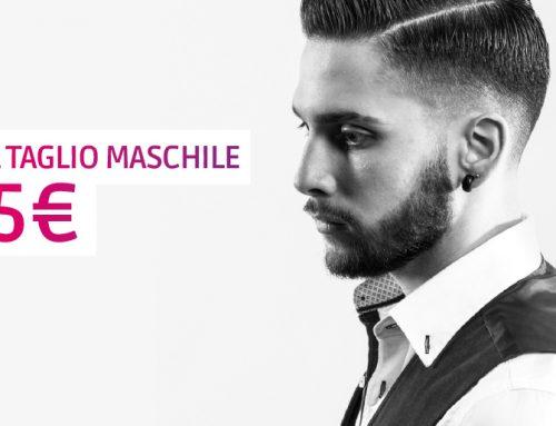Promo maggio: 1 taglio uomo a soli 5€
