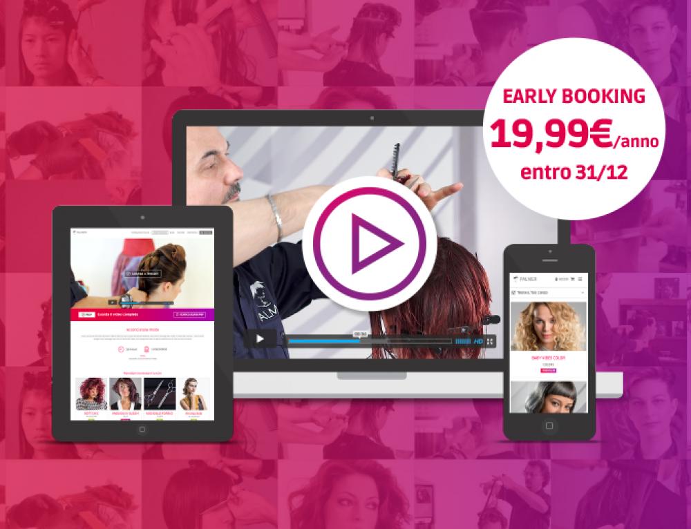 Video corsi per parrucchieri: abbonati entro il 31 dicembre a 19,99€!