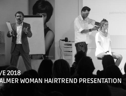 Sta arrivando il Palmer Woman HairTrend Presentation P/E 2018!