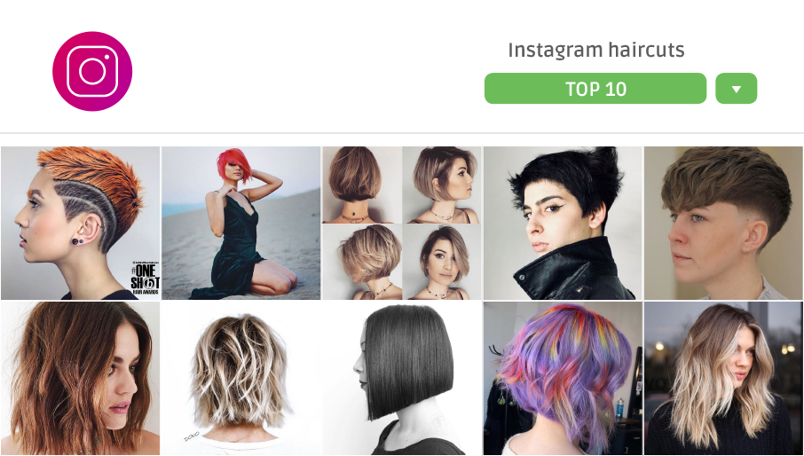 10 idee tagli da Instagram
