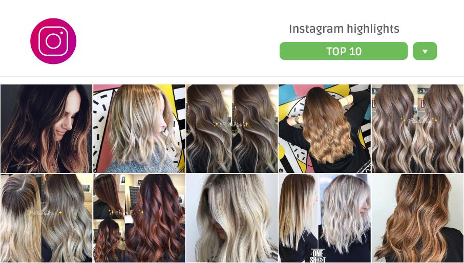 10 schiariture capelli da Instagram